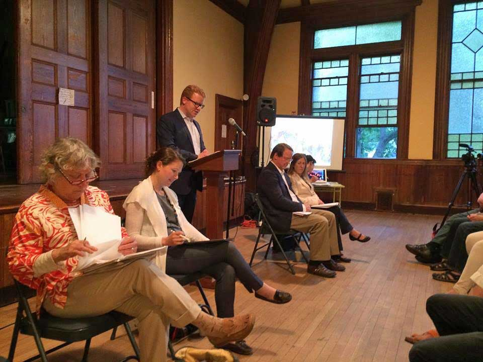 Panel at Boston Clean Energy Coalition event on June 15, 2017