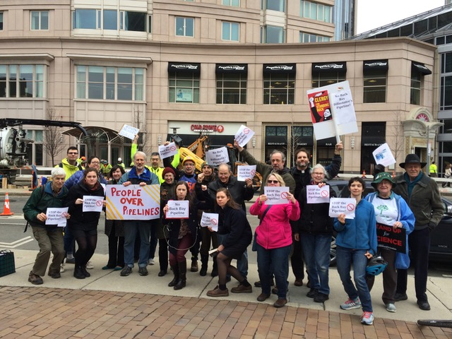 Rally to Resist the Back Bay Billionaires' Pipeline